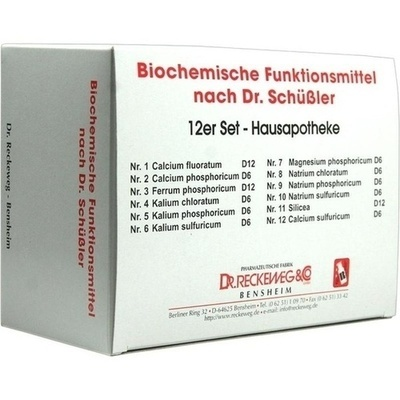 BIOCHEMIE 12er Set