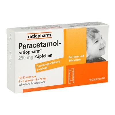 paracetamol zäpfchen baby