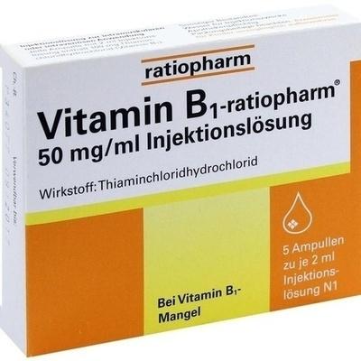 VITAMIN B1-ratiopharm 50 mg/ml Inj.Lsg.Ampullen