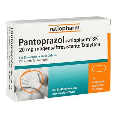 Pantoprazol-ratiopharm Sk 20mg Magensaftres. Tbl.  Tabletten