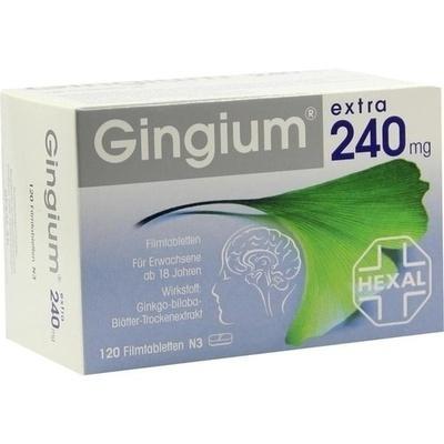 Gingium Extra 240mg Filmtabletten