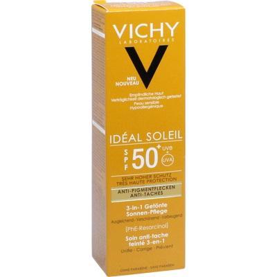 VICHY IDEAL Soleil Anti-Pigmentflecken Cr.LSF 50+