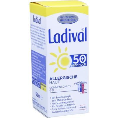 LADIVAL allergische Haut Gel LSF 50+