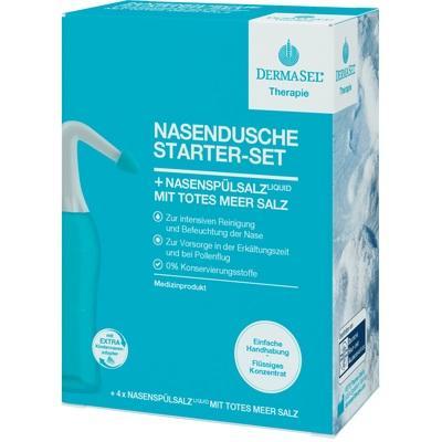 DERMASEL Therapie Nasendusche Starter-Set
