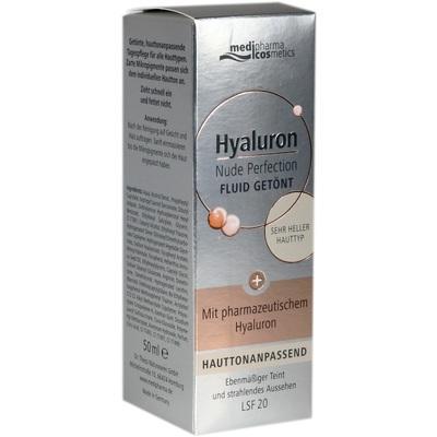 HYALURON NUDE Perfect.Fluid getönt s.hel HT LSF 20