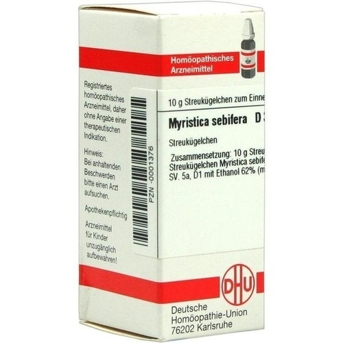 MYRISTICA SEBIFERA D 3 Globuli