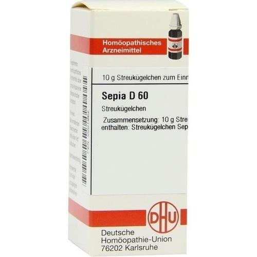 DHU SEPIA D 60 Globules