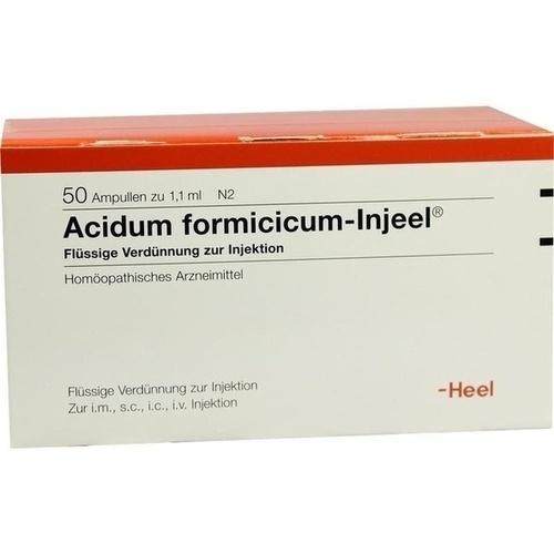 HEEL ACIDUM FORMICICUM INJEELE 1,1 ml