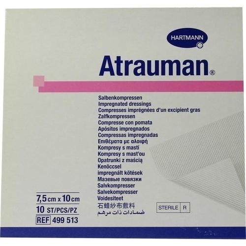 ATRAUMAN 7,5x10 cm steril Kompressen