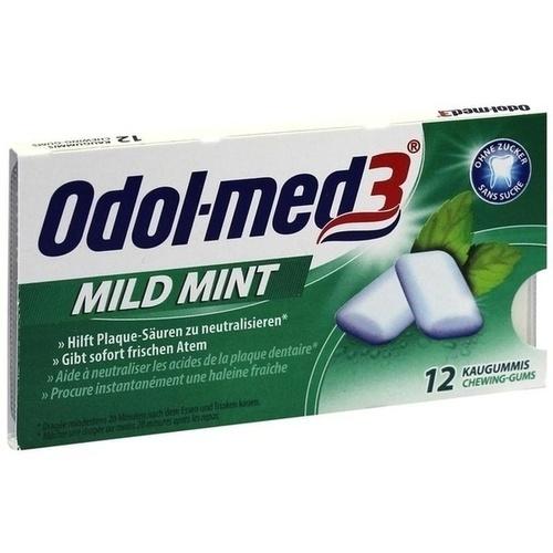 ODOL MED 3 Mild Mint Kaugummi