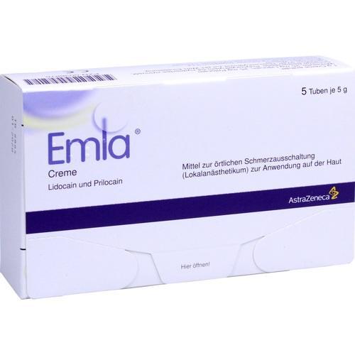 EMLA Creme + 12 Tegaderm Pflaster
