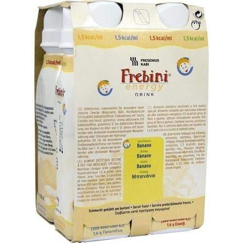 FREBINI Energy Drink Banane Trinkflasche