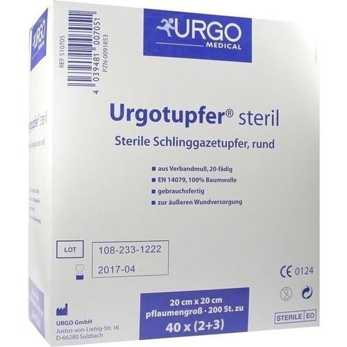 URGOTUPFER pflaumengroß steril 2+3