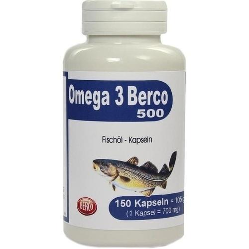 OMEGA-3 Berco 500 Kapseln