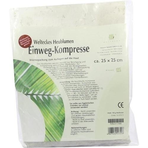 HEUBLUMEN EINWEG-Kompresse 25x25 cm