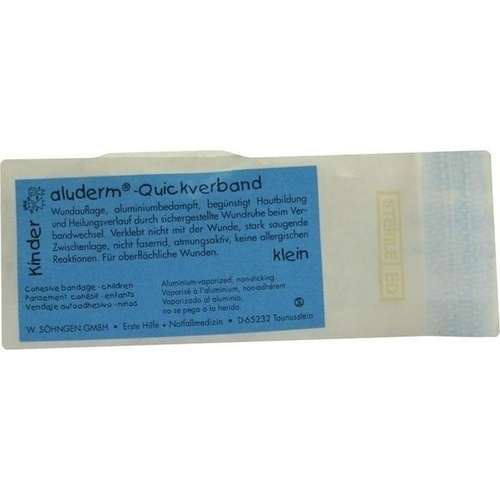 ALUDERM Kinder Quickverband klein