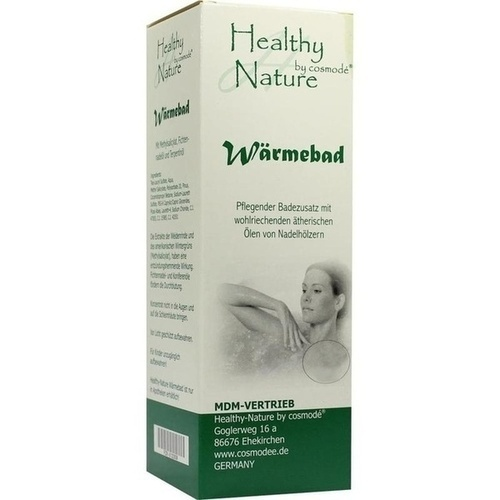 HEALTHY NATURE Wärmebad