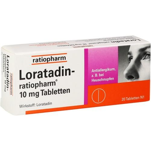 LORATADIN ratiopharm 10 mg Tabletten