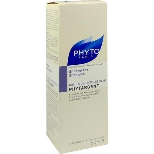 phyto phytargent shampoo gegen gelbstich 200 ml phyto