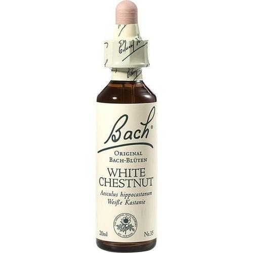Bachblüten White Chestnut Tropfen, 20ml 20 ml - Bach-Blüten - Neu ...