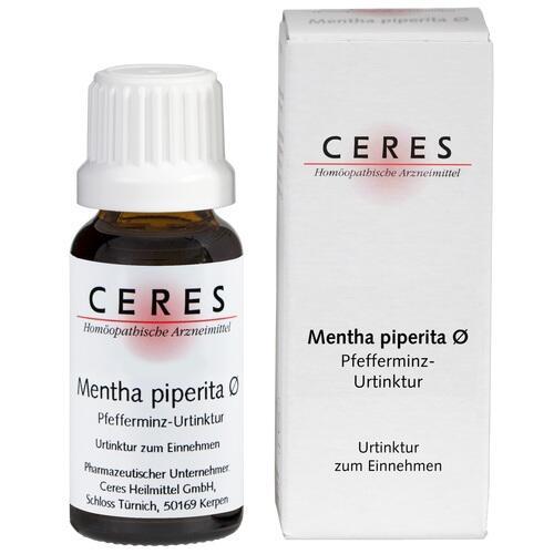 CERES Mentha piperita Urtinktur