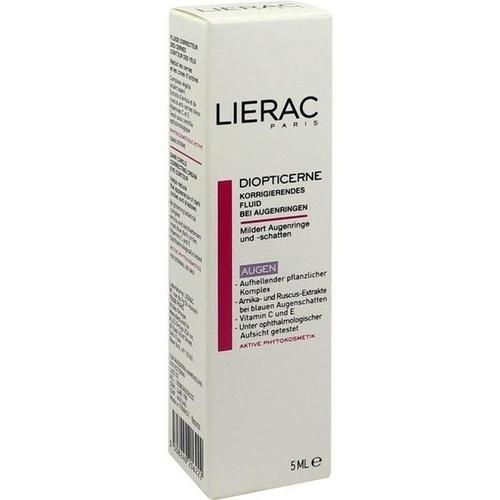 LIERAC Diopticerne Creme b.Augenringen korrigierendes Fluid 5 ml