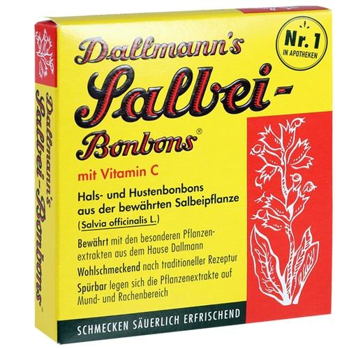 DALLMANN'S Salbei Bonbons m.Vit.C.