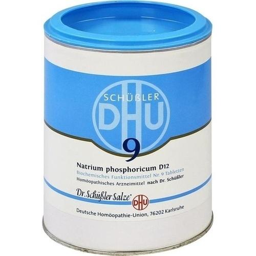 BIOCHEMIE DHU 9 Natrium phosphoricum D 12 Tabl.