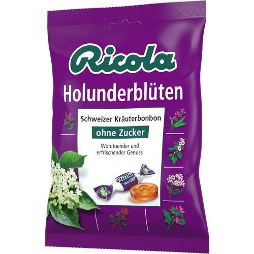 RICOLA o.Z.Beutel Holunderblüten Bonbons