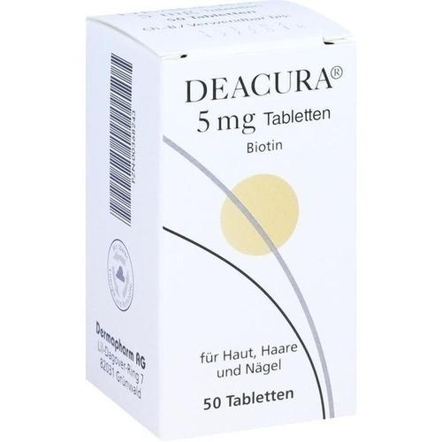 DEACURA 5 mg Tabletten