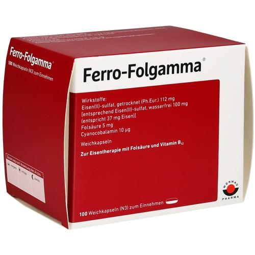 FERRO FOLGAMMA Weichkapseln 100 St.