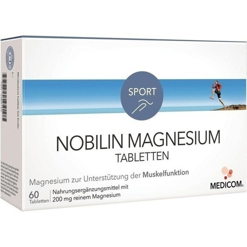 NOBILIN Magnesium Tabletten 60 St.