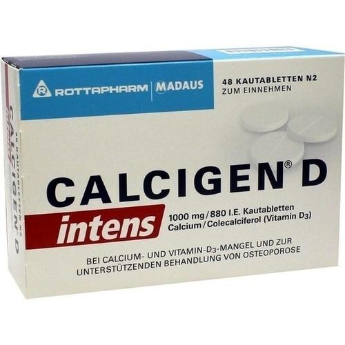CALCIGEN D intens 1000 mg/880 I.E. Kautabletten 48 St.