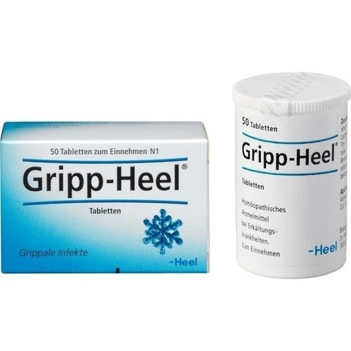 gripp heel tabletten 50 st erk ltung grippe. Black Bedroom Furniture Sets. Home Design Ideas