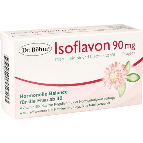 Apomedica Pharmazeutische Produkte GmbH ISOFLAVON 90 mg Dr. Böhm Dragees 60 St