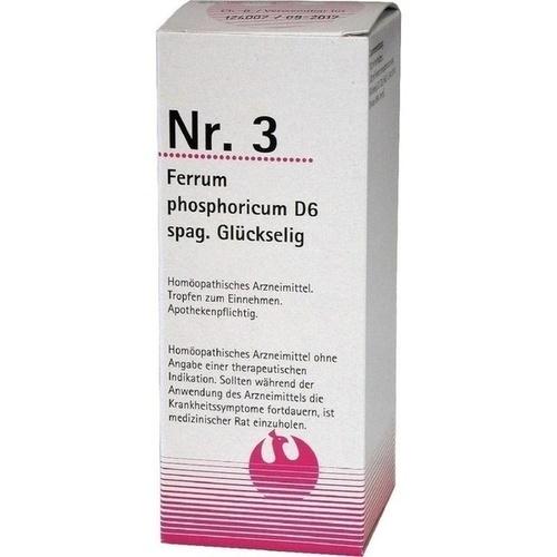 NR.3 Ferrum phosphoricum D 6 spag.Glückselig