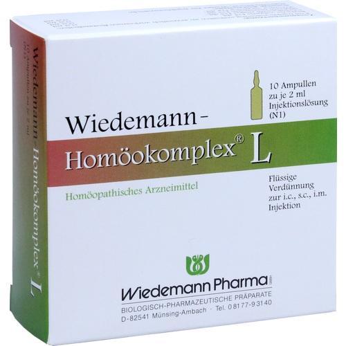 WIEDEMANN Homöokomplex L Ampullen 10X2 ml
