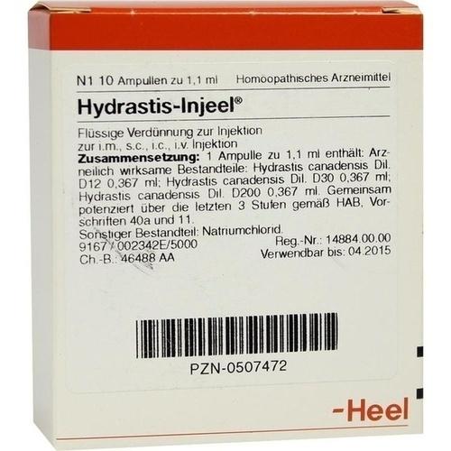 HYDRASTIS INJEEL Ampullen
