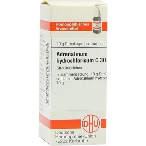 ADRENALINUM HYDROCHLORICUM C 30 Globuli