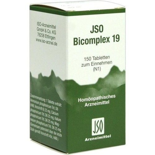 JSO-Bicomplex Heilmittel Nr.19