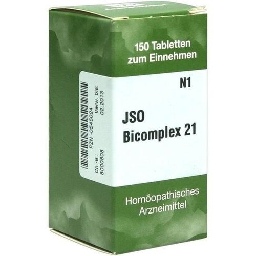 JSO-Bicomplex Heilmittel Nr.21