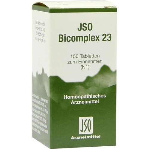 JSO-Bicomplex Heilmittel Nr.23