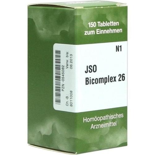 JSO-Bicomplex Heilmittel Nr.26