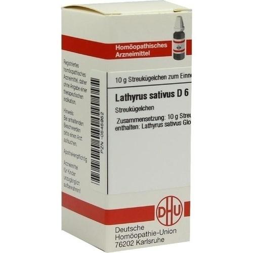 LATHYRUS SATIVUS D 6 Globuli