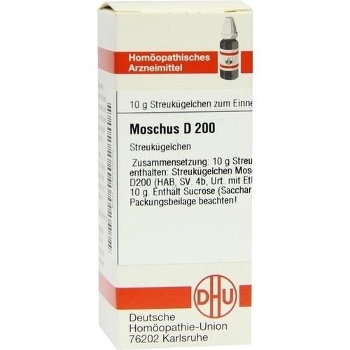 MOSCHUS D 200 Globuli