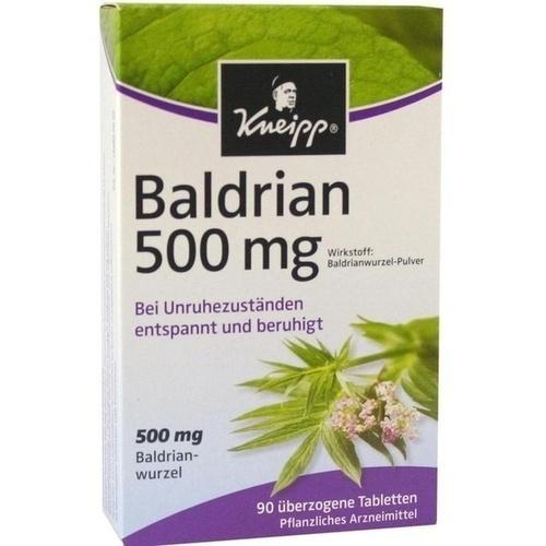 KNEIPP Baldrian 500 überzogene Tabletten