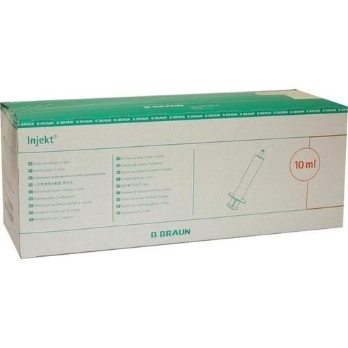 INJEKT Solo Spritze 10 ml LL zentrisch PVC-frei