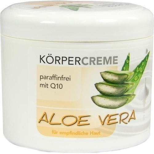 aloe vera k rpercreme q10 500 ml pflege massage wellness alles von a z apomex. Black Bedroom Furniture Sets. Home Design Ideas