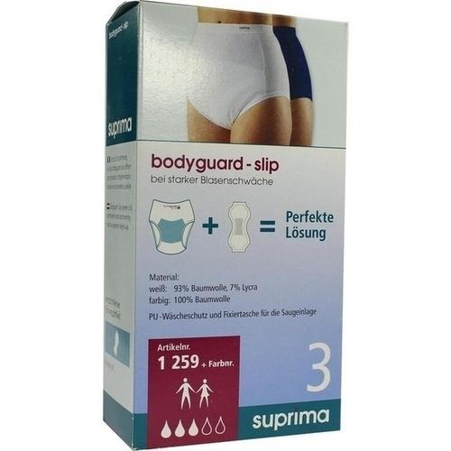 SUPRIMA Slip bodyguard 3 Gr.40/42 weiß