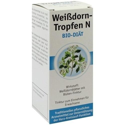 WEISSDORN TROPFEN N Bio-Diät 100 ml